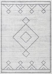 Nuloom Tribal Diamond Medallion Grey Area Rug