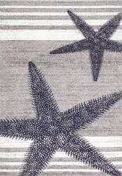 Nuloom Thomas Paul Power Loomed Starfish Grey Area Rug