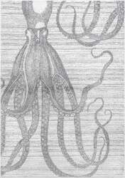 Nuloom Thomas Paul Power Loomed Octopus Silver Area Rug