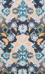 Nuloom Hand Tufted Felicity Navy Area Rug