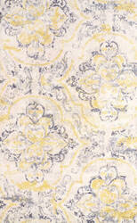 Nuloom Floral Cortney Ivory Area Rug