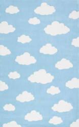 Nuloom Cloudy Sachiko Blue Area Rug