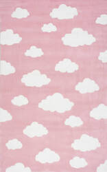Nuloom Cloudy Sachiko Pink Area Rug