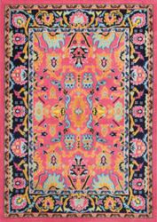 Nuloom Floral Connor Pink Area Rug