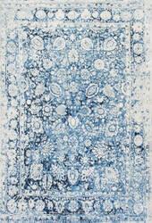 Nuloom Vintage Floral Boisvert Blue Area Rug