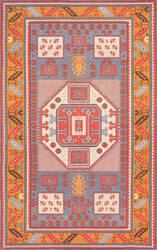 Nuloom Tribal Marnie Rust Area Rug
