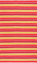 Nuloom Flatweave Kenton Stripes Sunset Area Rug