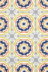 Nuloom Hand Hooked Sevilla Tiles Multi Area Rug