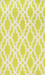 Nuloom Hand Hooked Rico Green Area Rug