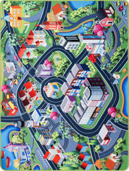 Nuloom City Playtime Multi Area Rug