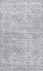 Nuloom Chappell Floral Trellis Grey Area Rug