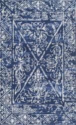 Nuloom Vintage Laurine Blue Area Rug