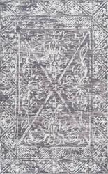 Nuloom Vintage Laurine Grey Area Rug