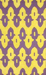 Nuloom Hand Hooked Honor Purple Area Rug