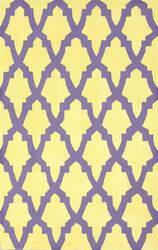 Nuloom Hand Hooked Jessica Purple Area Rug