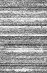 Nuloom Hand Tufted Classie Shag Grey Multi Area Rug