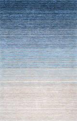 Nuloom Drey Ombre Shag Blue Area Rug