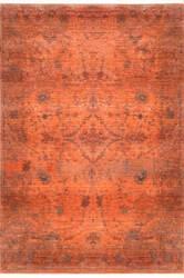 Nuloom Alethia Herati Fringe Orange Area Rug