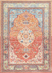 Nuloom Vintage Barnhart Orange Area Rug