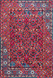 Nuloom Benito Damask Cherry Pink Area Rug