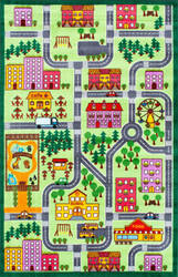 Nuloom City Neighborhood Multi Area Rug