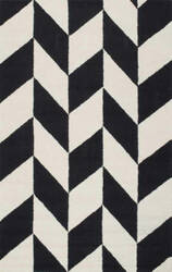 Nuloom Hand Tufted Katte Black And White Area Rug
