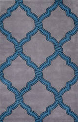 Nuloom Hand Tufted Genevieve Grey Area Rug