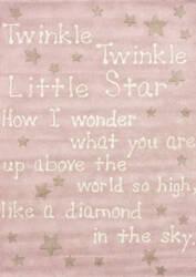 Nuloom Hand Tufted Twinkle Twinkle Baby Pink Area Rug