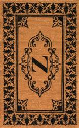 Nuloom Letter Z Doormat Letter Z Area Rug