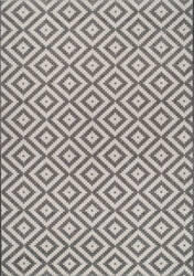 Nuloom Marybelle Tribal Diamond Grey Area Rug