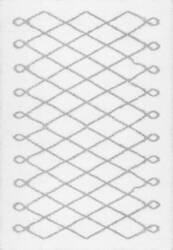 Nuloom Stasia Diamond Shag Grey Area Rug