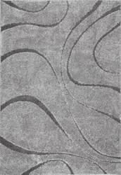 Nuloom Machine Made Caroyln Dark Grey Area Rug