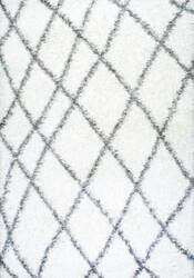 Nuloom Alvera Easy Shag White Area Rug