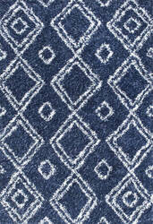 Nuloom Iola Easy Shag Blue Area Rug