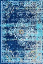 Nuloom Persian Paulita Blue Area Rug