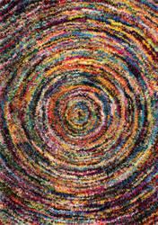 Nuloom Ardelle Swirl Shaggy Multi Area Rug