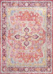 Nuloom Vintage Anneliese Pink Area Rug