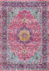 Nuloom Verona 165746 Pink Area Rug