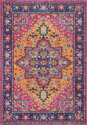 Nuloom Fancy Persian Vonda Orange Area Rug