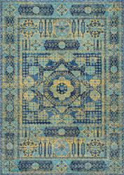 Nuloom Vintage Emelda Blue Area Rug