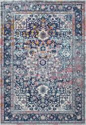 Nuloom Persian Vintage Raylene Blue Area Rug