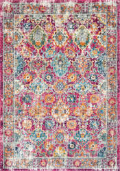 Nuloom Persian Leilani Pink Area Rug