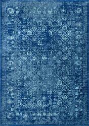 Nuloom Herminia Vintage Trellis Blue Area Rug