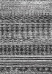 Nuloom Nova Stripes Dark Grey Area Rug