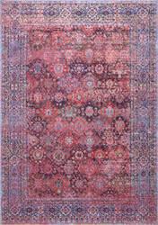 Nuloom Vintage Faded Letha Pink Area Rug