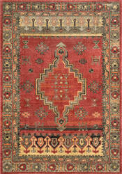 Nuloom Tribal Medallion Jeannetta Red Area Rug
