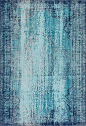 Nuloom Distressed Vance Blue Area Rug