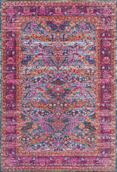 Nuloom Persian Floral Yoshie Pink Area Rug