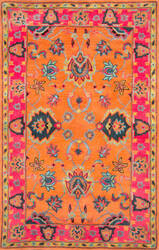 Nuloom Hand Tufted Montesque Orange Area Rug