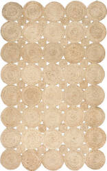 Nuloom Hand Woven Drusilla Natural Area Rug